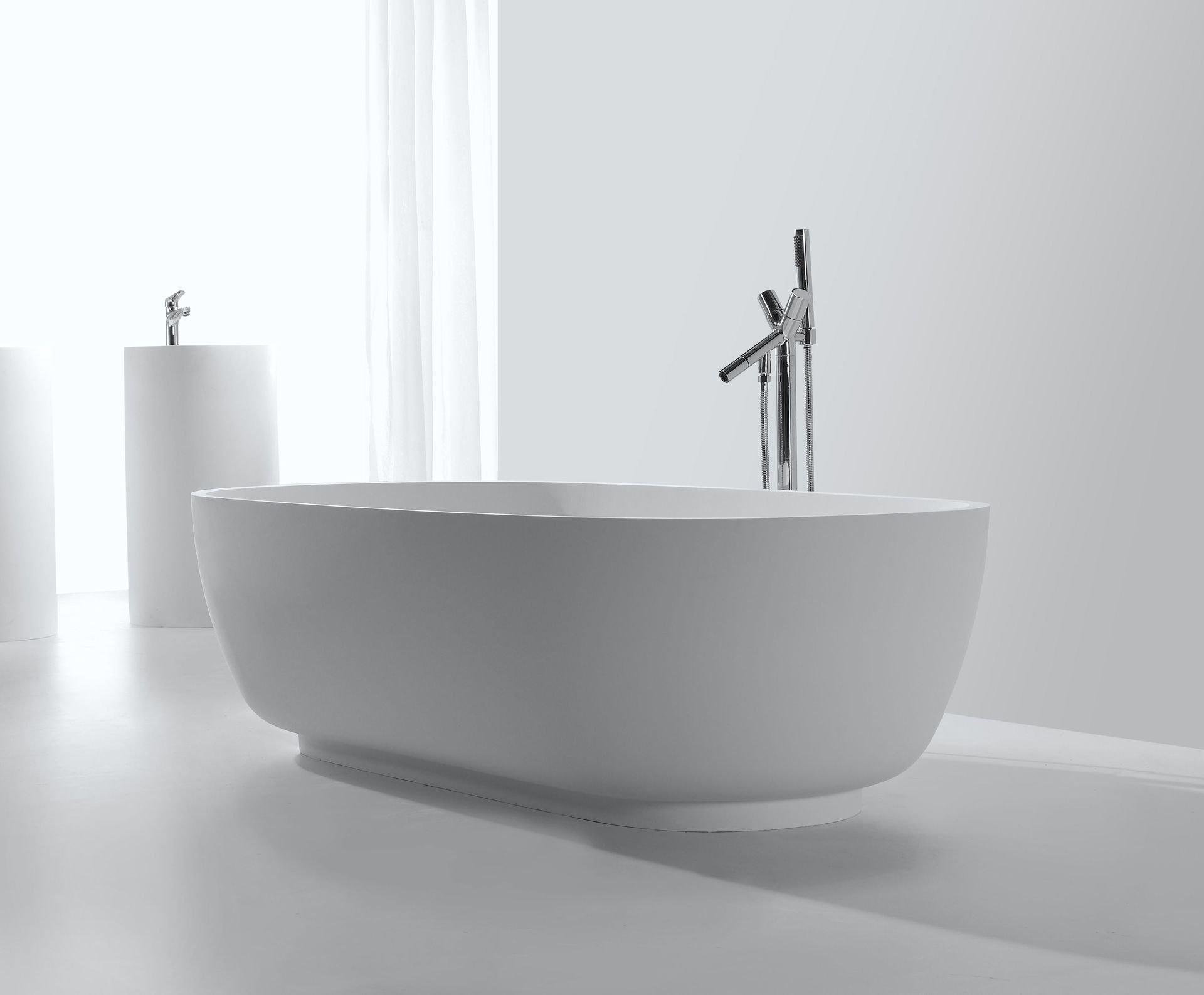 mineralguss badewanne affuso freistehend. Black Bedroom Furniture Sets. Home Design Ideas