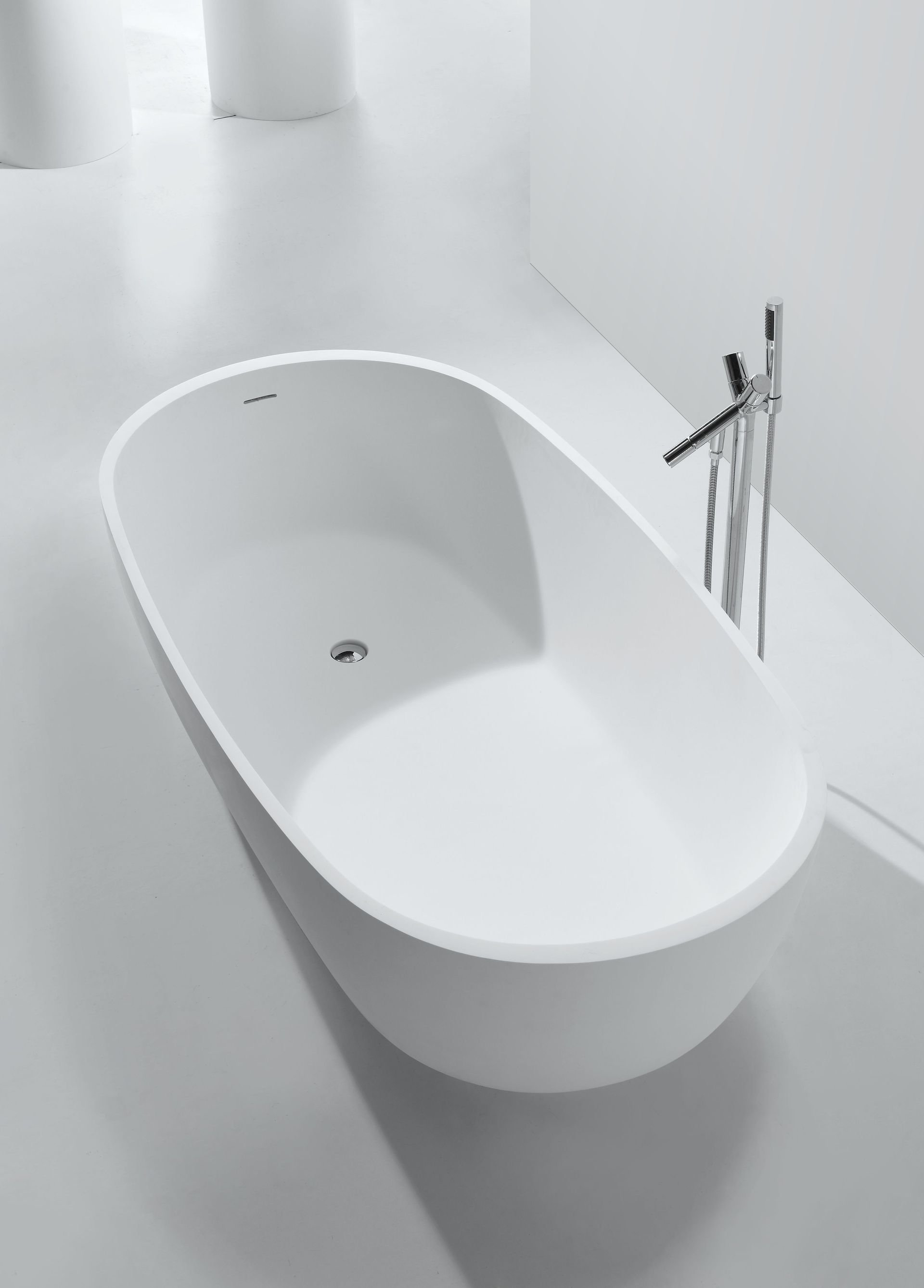mineralguss badewanne affuso freistehend duschdeals. Black Bedroom Furniture Sets. Home Design Ideas