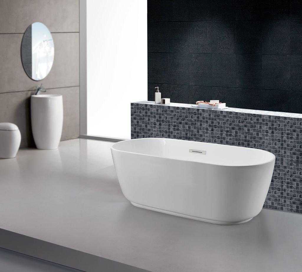 Freistehende badewanne cartera duschdeals for Freistehende badewanne bilder