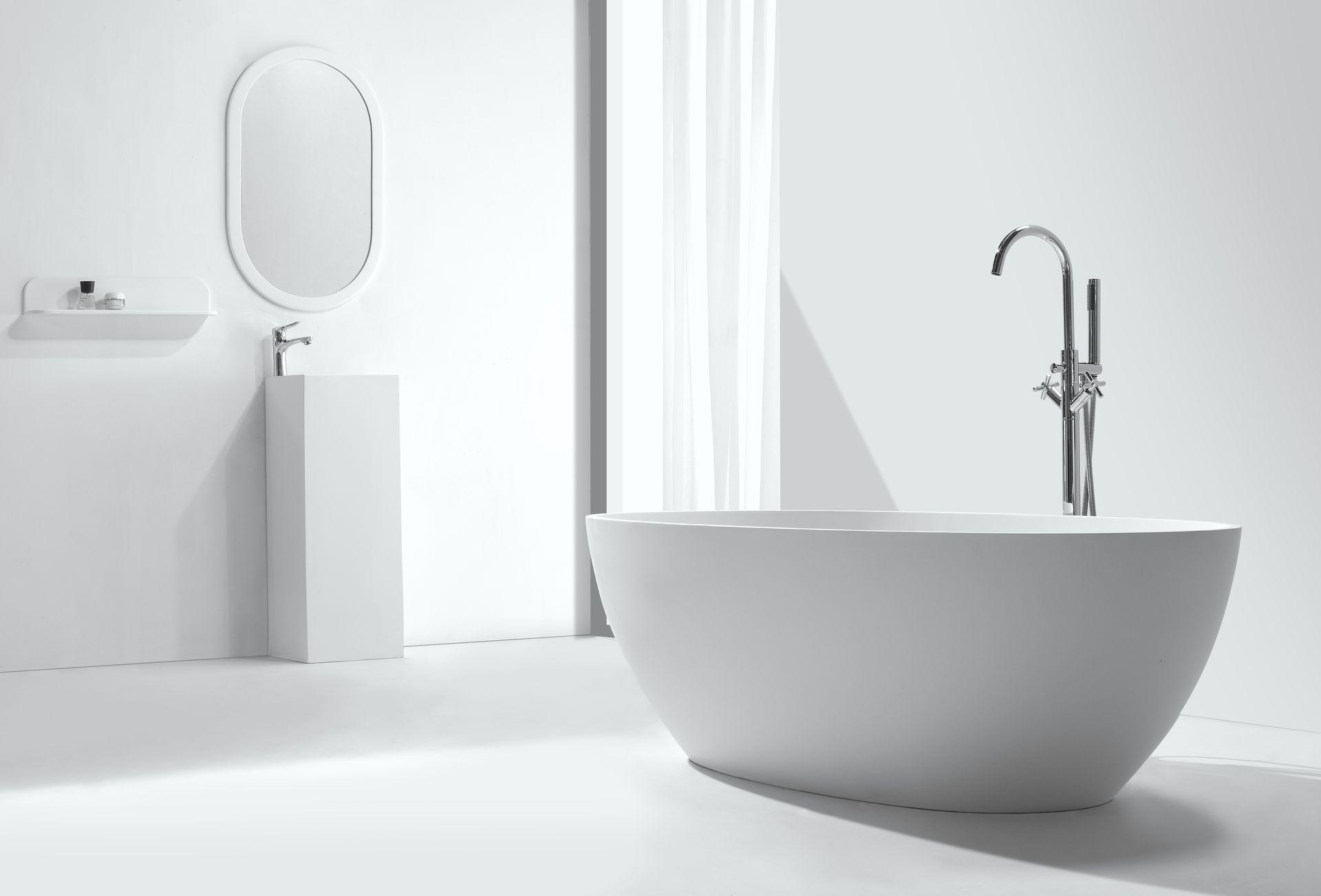 mineralguss badewanne ductilo freistehend duschdeals. Black Bedroom Furniture Sets. Home Design Ideas