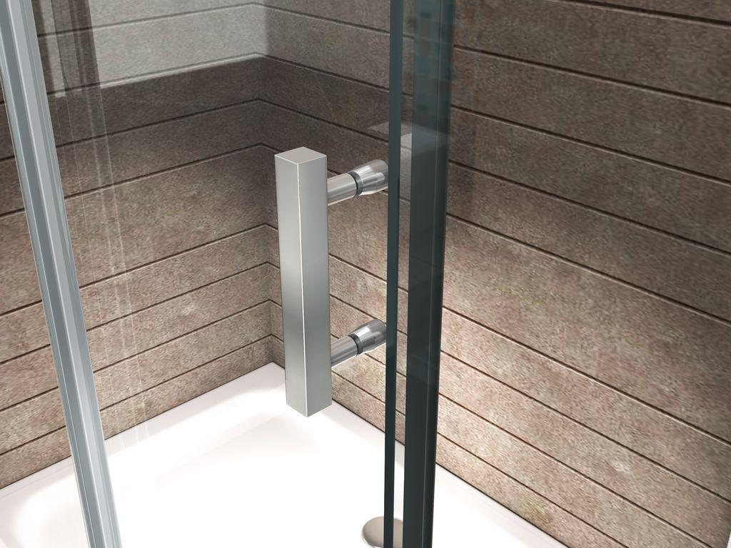 duschkabine largos 160 x 90 x 195 cm ohne duschtasse glasdeals. Black Bedroom Furniture Sets. Home Design Ideas