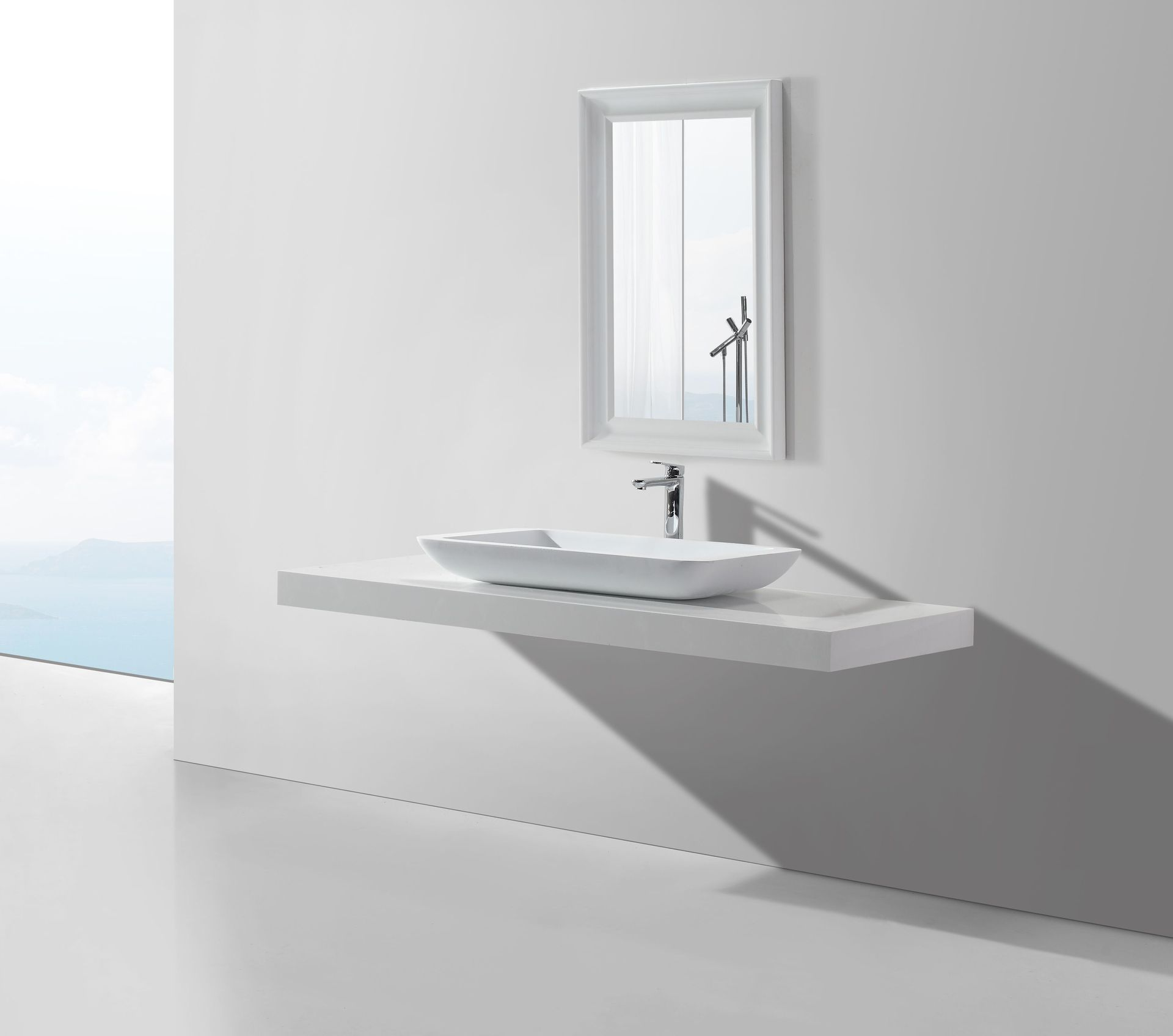 mineralguss aufsatzwaschtisch maw2324 duschdeals. Black Bedroom Furniture Sets. Home Design Ideas
