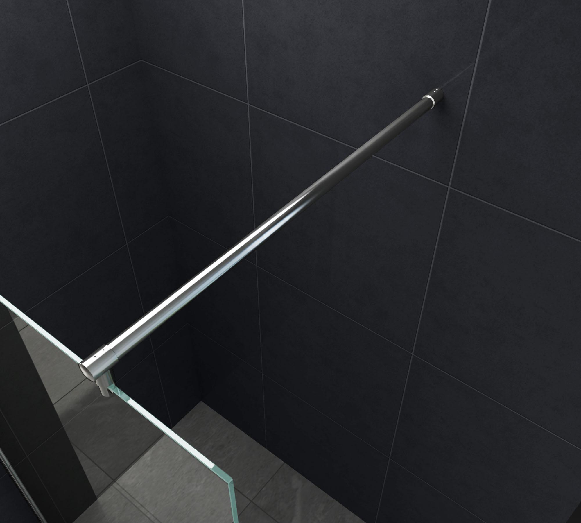 10 mm duschwand slim 120 x 200 cm glasdeals. Black Bedroom Furniture Sets. Home Design Ideas
