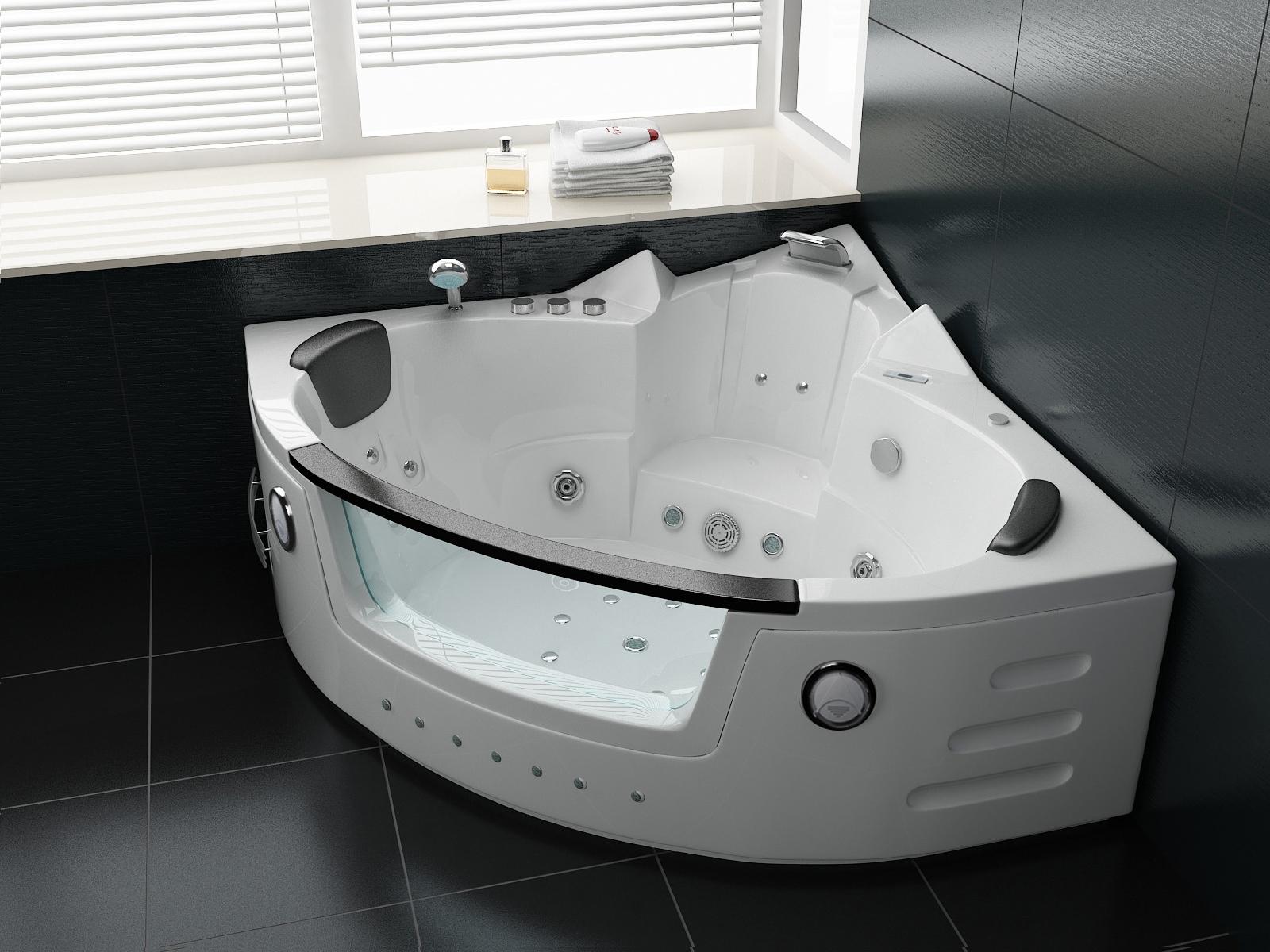whirlpool badewanne stream 140 x 140 cm duschdeals. Black Bedroom Furniture Sets. Home Design Ideas