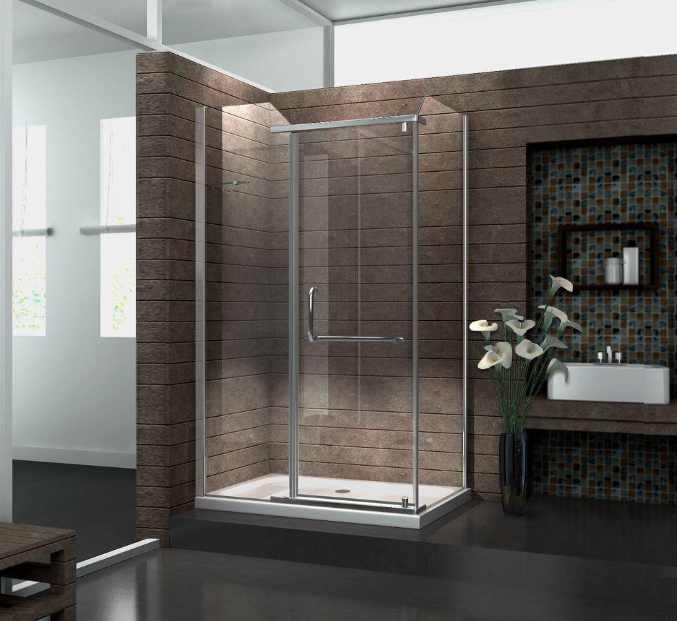 Duschkabine VITA 120 x 80 x 195 cm ohne Duschtasse